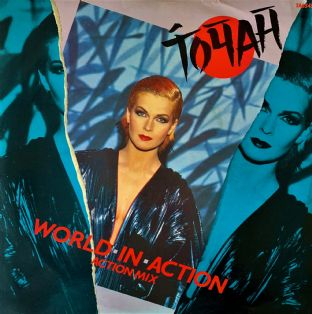 "Toyah ‎- World In Action (12"") (VG+/VG-)"